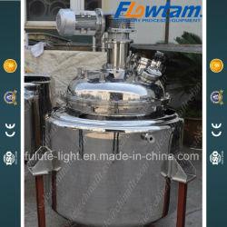 3000L pot de réaction en acier inoxydable