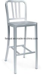 Restaurant Café Emeco chaise de salle à manger de la marine en aluminium