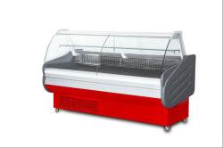 Ausgeglichenes Glas-Service-Kostenzähler-gekühlter luxuriöser Schiebetür-Schaukasten