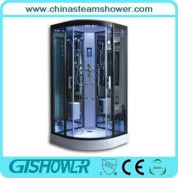 Cristal negro barato cabina de ducha de vapor (GT0513A)