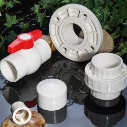 Kundenspezifisches Farbe Belüftung-weißes Rohr und Befestigung