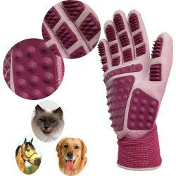 Het Verzorgen van het Huisdier van de fabriek de In het groot Milieuvriendelijke Schoonmakende Handschoen van het Nitril van de Bedrijfsveiligheid