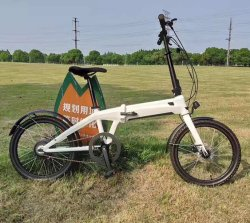 محرك ألومنيوم خفيف الوزن إطار Lithium Battery Electric Dirt Bike E الدراجات القابلة للطي
