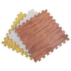 Stuoia di legno del pavimento del grano di EVA che collega stuoia antiscorrimento