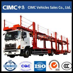Cimc 두 배 수준에 의하여 열리는 디자인 수출용 자동차 운반선 트럭 트레일러 차 트레일러