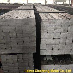S20C S45c Scm440 / ASTM1020 1045 4140 de acero laminado en caliente Barras cuadradas