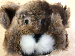 Головка блока цилиндров животных Кольской мода пользовательские Beanie колпачок с длинной шерсти