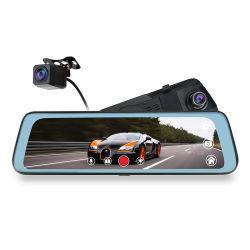 """Adas carro câmara DVR 9,66"""" Stream Retrovisor de mídia de alta definição total 1080P Dash Cam DVR Gravador de vídeo do Distribuidor Autorizado"""