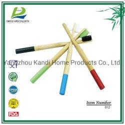 Tandenborstel van het Bamboe van het Varkenshaar van de Houtskool van het Handvat van het Bamboe van 100% de Milieuvriendelijke Natuurlijke