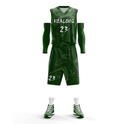 Numbers Mesh Basketball Shorts Uniform의 고품질 저가 농구 저지