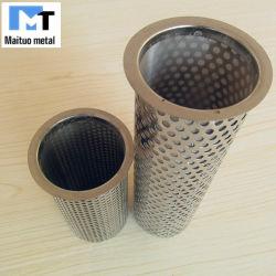 Перфорированные/тканого металлический сетчатый фильтр отбора
