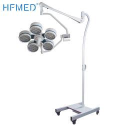 Opération chirurgicale à LED feux Shadowless Portable Lampes à usage vétérinaire (YD02-LED5S)
