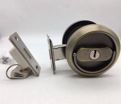 AB-Edelstahl-hängen der hölzerne schiebende Haken-Tür-Verschluss, der in Schiebetür/verwendet werden, der Schiebetür-Verschluss, der verborgen wird bündig, Griff-hölzernen Zug-Griff ein