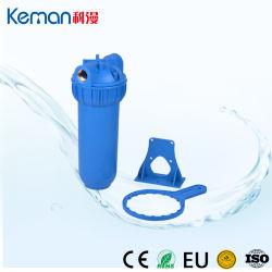 """"""" Gehäuse-Ausgangswasser-Filtergehäuse des einzelnen Stadiums-10 blaues mit Kassetten-Halter und Schlüssel"""