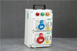 Contenitore antipolvere di zoccolo della spina elettrica della giunzione impermeabile di plastica all'ingrosso