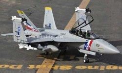 F-18 Bounty Hunter jet avion 70mm FED RC avion avec métal d'atterrissage de rétraction