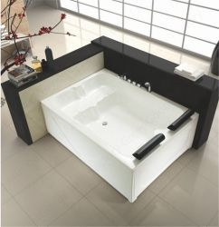 Coreia banheiras de casal Extra Grande com Banheira diafragmas
