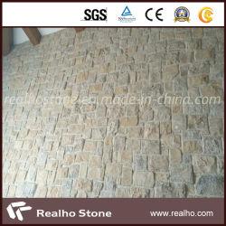 Mattonelle beige romane della parete del calcare con il prezzo basso per le facciate