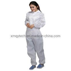 Vestiti da lavoro antistatici degli indumenti della tuta incappucciata antistatica all'ingrosso per il locale senza polvere