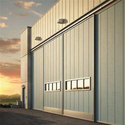 مصنع بيع البوابة الرئيسية الصناعية تصميم الباب المنزلق الكبير