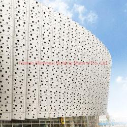 20 años de garantía unitario interior y exterior de chapa de aluminio muro cortina de metal