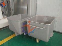 食糧工場のためのステンレス鋼のスキップ車