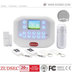Écran LCD de la sécurité sans fil GSM Bureau de la chambre d'accueil de numérotation automatique RTPC cambrioleur alarme intrusion