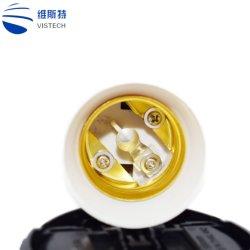 1 spina di adattatore del supporto della lampada E27 della lampadina dello zoccolo di PCS