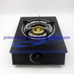 Elemento singolo superiore di vetro di vendita caldo del fornello di gas del ghisa dell'alveare del bruciatore: HS-501