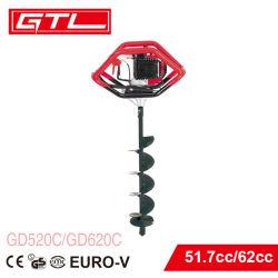 販売(GD520C)のための51.7cc土のオーガーか携帯用土地掘る機械/Earthのオーガーまたはポスト穴の坑夫