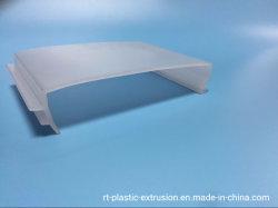 Lampe LED d'extrusion de plastique de l'ombre et couvercle & Tube 4