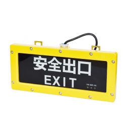 Avançado de Alta Potência LED chama de emergência à prova de explosão Eergency Luz de Saída