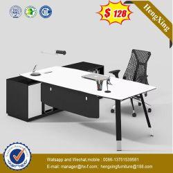 Surface de bois populaire châssis en acier métallique Desk avec le côté Table (HX-GA0012)