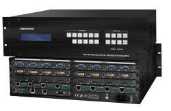 La serie X9 de ancho de banda Ultra-High video wall Soporte para procesadores Multi-Window