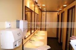 환경 모듈 휴대용 선적 컨테이너 화장실 Prefabricated 샤워실