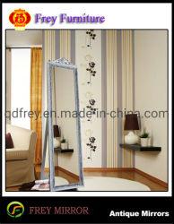 Muelle de madera maciza de diseño europeo espejo de cristal