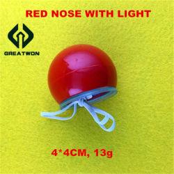 LED leuchten Ren-Wekzeugspritzen-Clown-Wekzeugspritzen-roter Farbe für Festival u. Partei