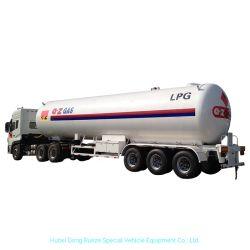 LPG 탱크 트레일러 자른 꼬리 트럭 수송 30 - 가스를 요리하는 60 M3 부탄 프로판