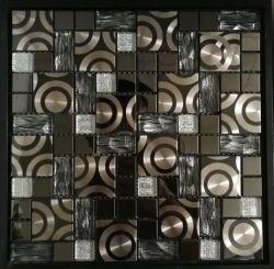 Haute qualité en acier inoxydable de gros bon marché Brésil Mix mosaïque Alu
