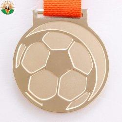 Fabrik-Zubehör-Goldleerzeichen-Zink-Legierungs-Sport-Medaille