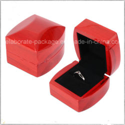 Caisse d'emballage attrayante en bois de cadre/de bijou de module antique de cadeau