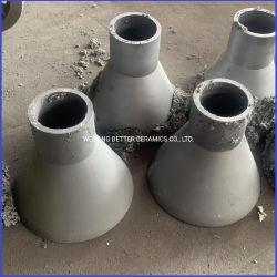 Proteção de desgaste do tubo do redutor Sisic de carboneto de silício para revestimento de ciclone