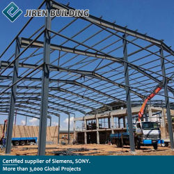 Costruzione di memoria prefabbricata pre costruita prefabbricata modulare industriale su ordinazione della fabbrica del gruppo di lavoro del magazzino della costruzione della struttura del blocco per grafici dell'acciaio per costruzioni edili del metallo