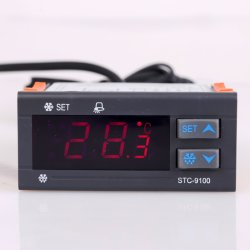 Panneau de commande de température de l'aquarium numérique