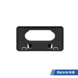 De plástico ABS negro Customzied matrículas de automóviles de trama