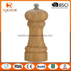 Manual de bambu operar sal e pimenta Mill
