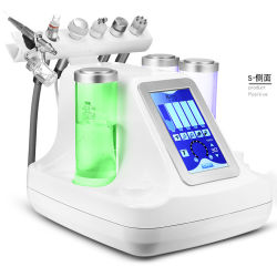 6 em 1 de RF Tripolar Bio Ultrasonic Cool Jet Água Microdermabrasion oxigénio dermoabrasão a máquina