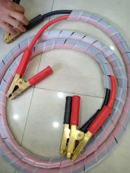 Авто соединительные кабели 1 манометр 1200А 65FT W/сумка, инструкцию пробуксовки, коммерческого уровня автомобильной Booster кабели для тяжелого режима работы для автомобиля фургона погрузчика