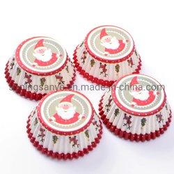 Hornear magdalenas Cupcake decoración de tortas de papel resistente a la grasa tazas