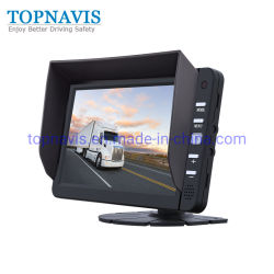 7 de Auto van de duim/Monitor van de Mening van TV van Ahd LCD van de Vrachtwagen/van de Bus de Achter in 3 Kanalen